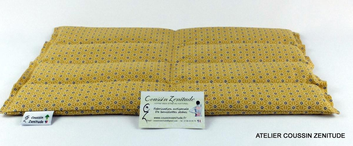 COUSSIN LOMBAIRE - BOUILLOTTE SECHE -NAKANO J